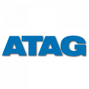 Logo van ATAG cv-ketel fabrikant